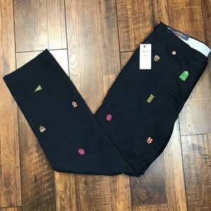 POLO RALPH LAUREN STRETCH STRAIGHT FIT NAVY BLUE